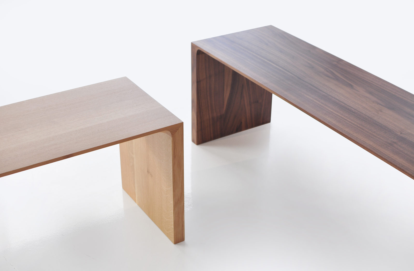bensen bench wood radius products radii modern